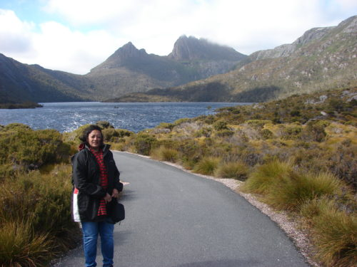 Cradle Mountain in the background