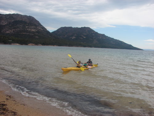 From Hobart to Cradle Mountain, kayaking enroute