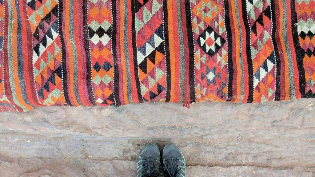 Carpet at Petra