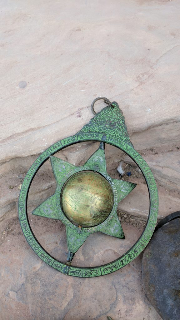 Compass seen at Petra