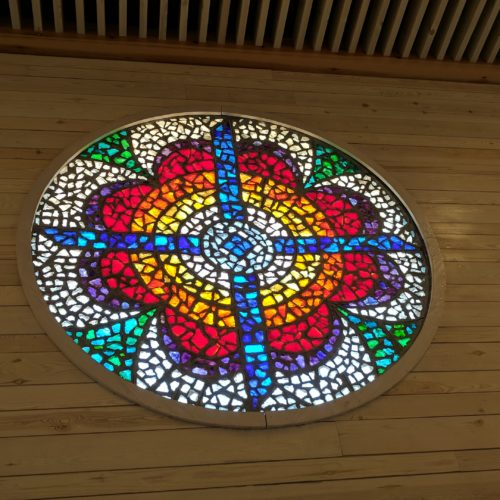 Stain Glass at Mt.Nebo Church