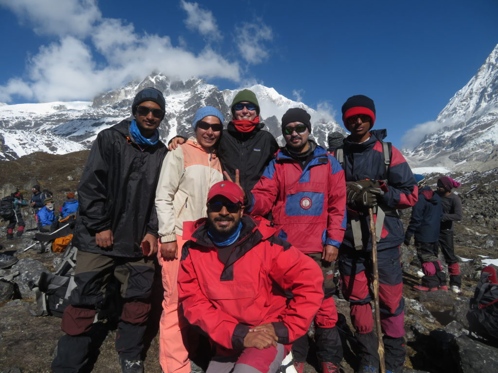 With friends enroute climbing Mt.Renok