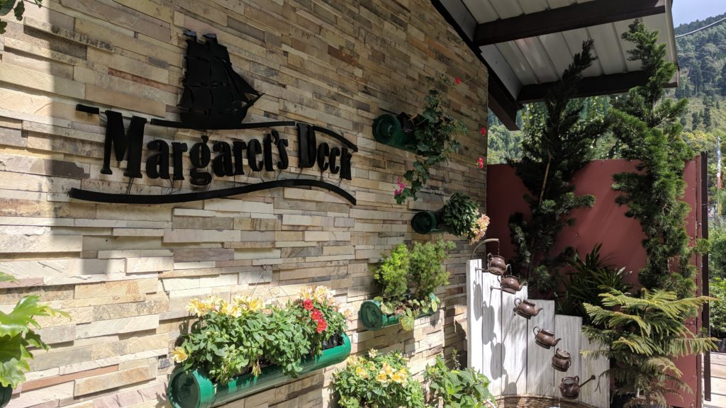 Margaret's Deck, lovely coffee place enroute Darjeeling to Bagdogra airport