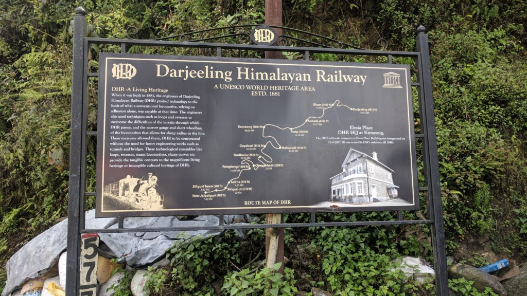 The Darjeeling Himalayan Railway, one of the oldest steam engines in service